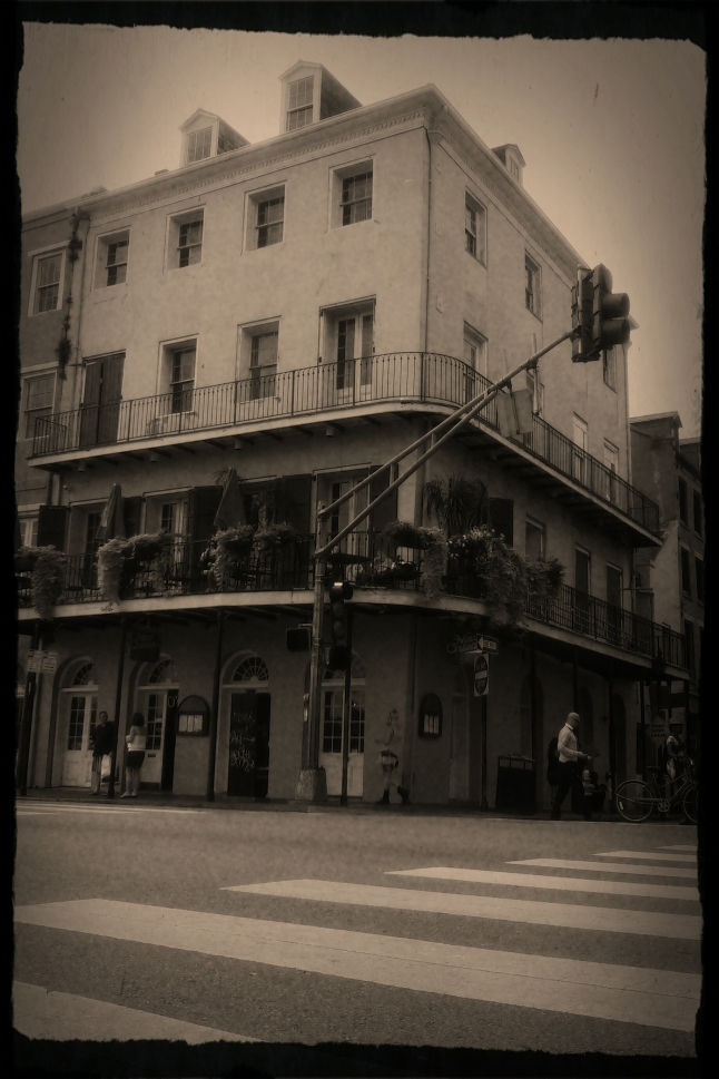 I love the old buildings in downtown New Orleans! They have such an old world beauty and even after so many years, they are still standing and still useful. I think there's a lesson to be learned there.