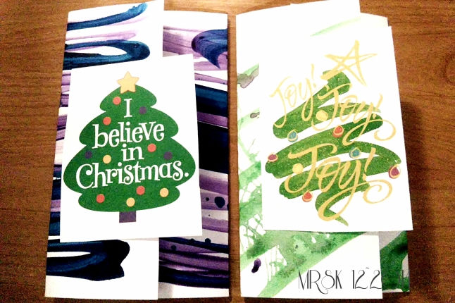 Christmas Cards 2 and 3