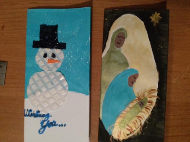 Christmas cards 6 & 7