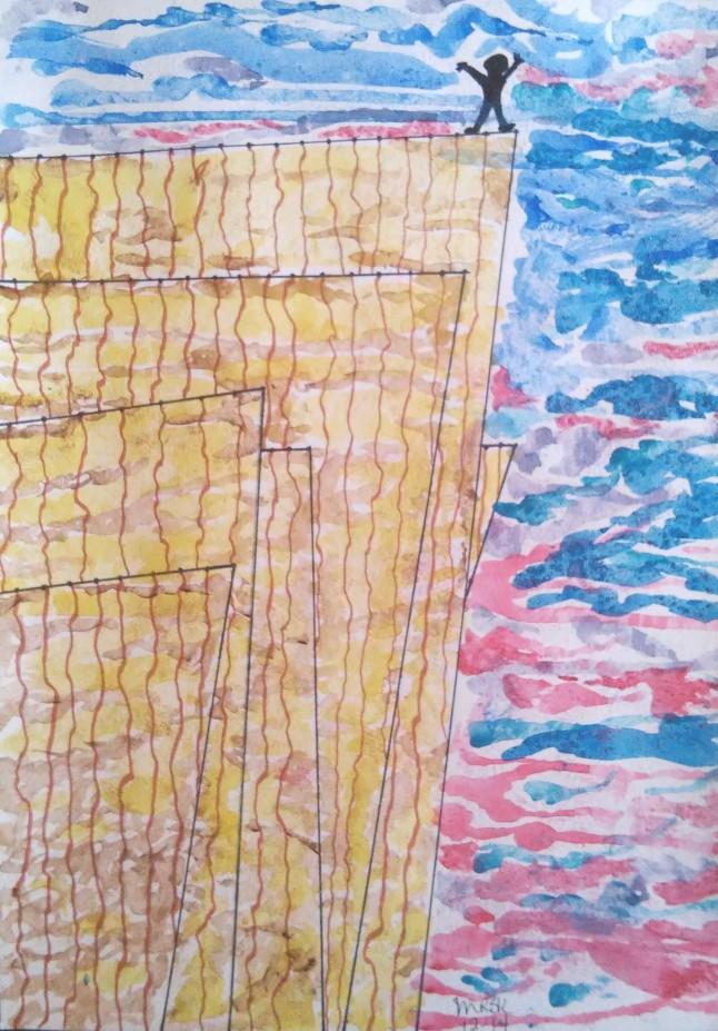 """I Made It!"" - mixed media artwork by Melody Kittles"