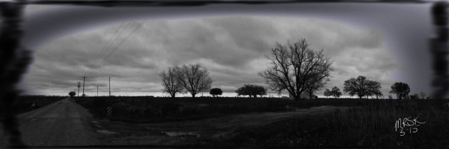 """""""Disconnected"""" - panoramic photo created by Melody R. Kittles"""