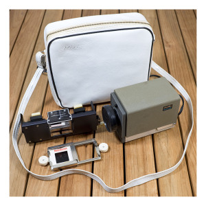 Minolta Mini folding slide projector